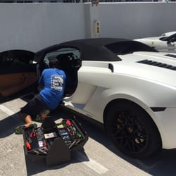 Photo Of Car Gps Tracker Miami Miami Fl United States Lamborghini Gps