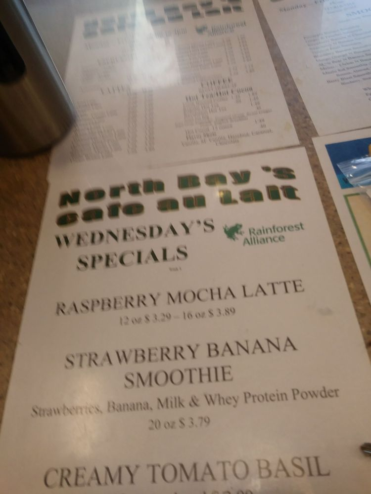North Bay's Cafe au Late: 6600 Madison St, New Port Richey, FL