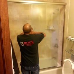 The Rock Glass Amp Mirror Company Windows Installation