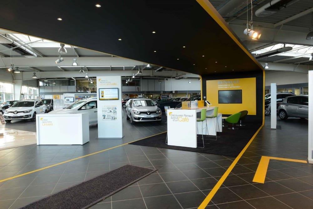Concession renault sandrah car dealers 1230 bd for Au bureau henin beaumont