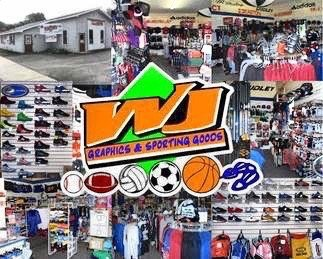 Wj Graphics & Sporting Goods: 144 Broad St, Waverly, PA