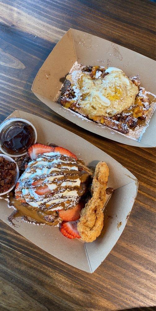 Press Waffle Co.: 720 Franklin Ave, Waco, TX