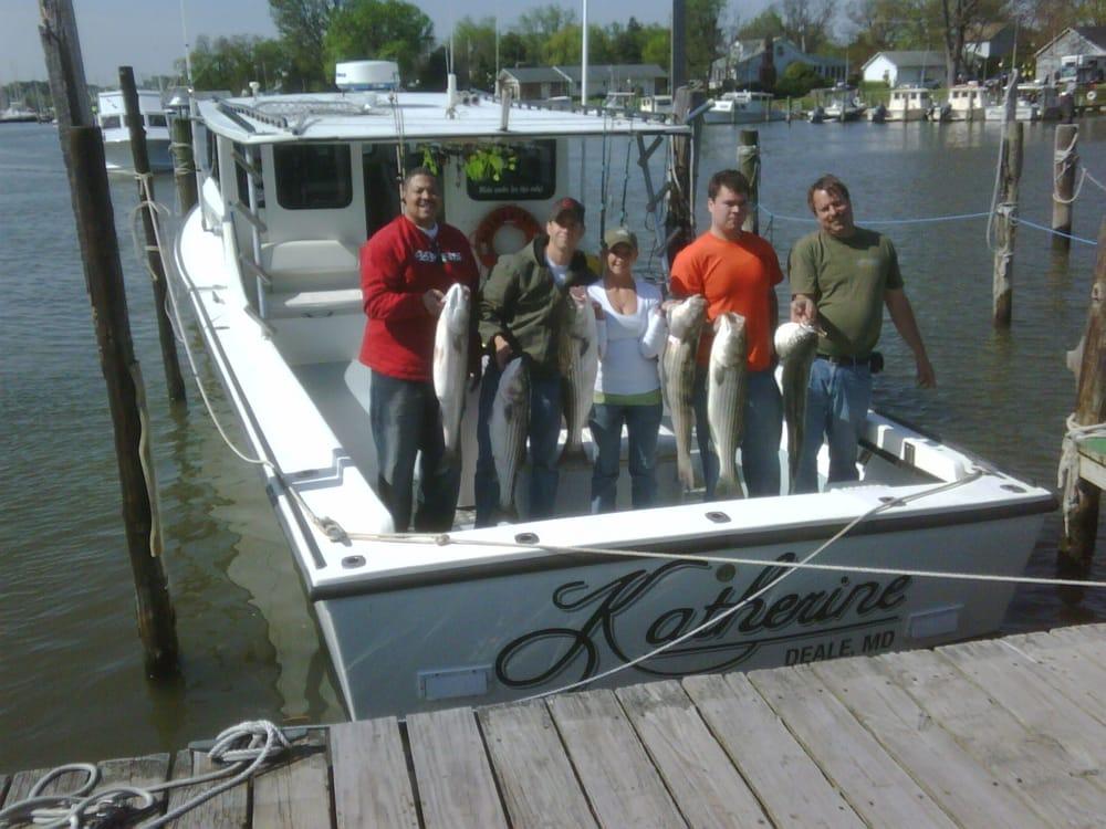 Katherine charter fishing fishing 3748 harbor rd for Chesapeake beach fishing charters