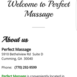 perfect massages Rialto, California