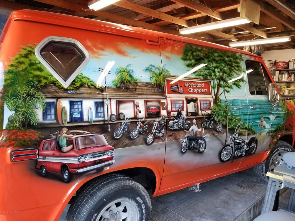Moreland Choppers: 369 N Hwy 101, Solana Beach, CA