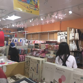Store with asian crafts moring glory