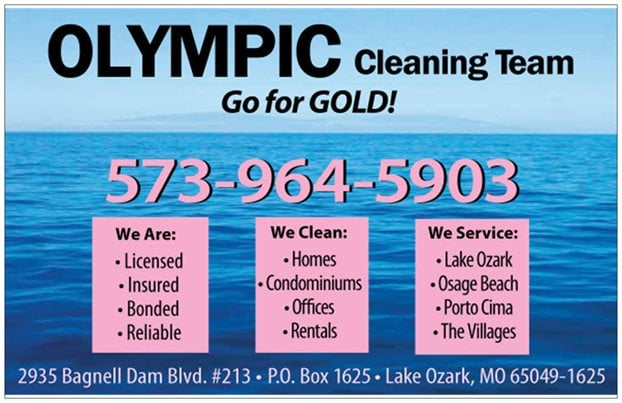 OLYMPIC Cleaning Team: 2901 Bagnell Dam Blvd, Lake Ozark, MO