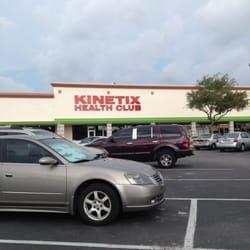 Kinetix Health Club logo