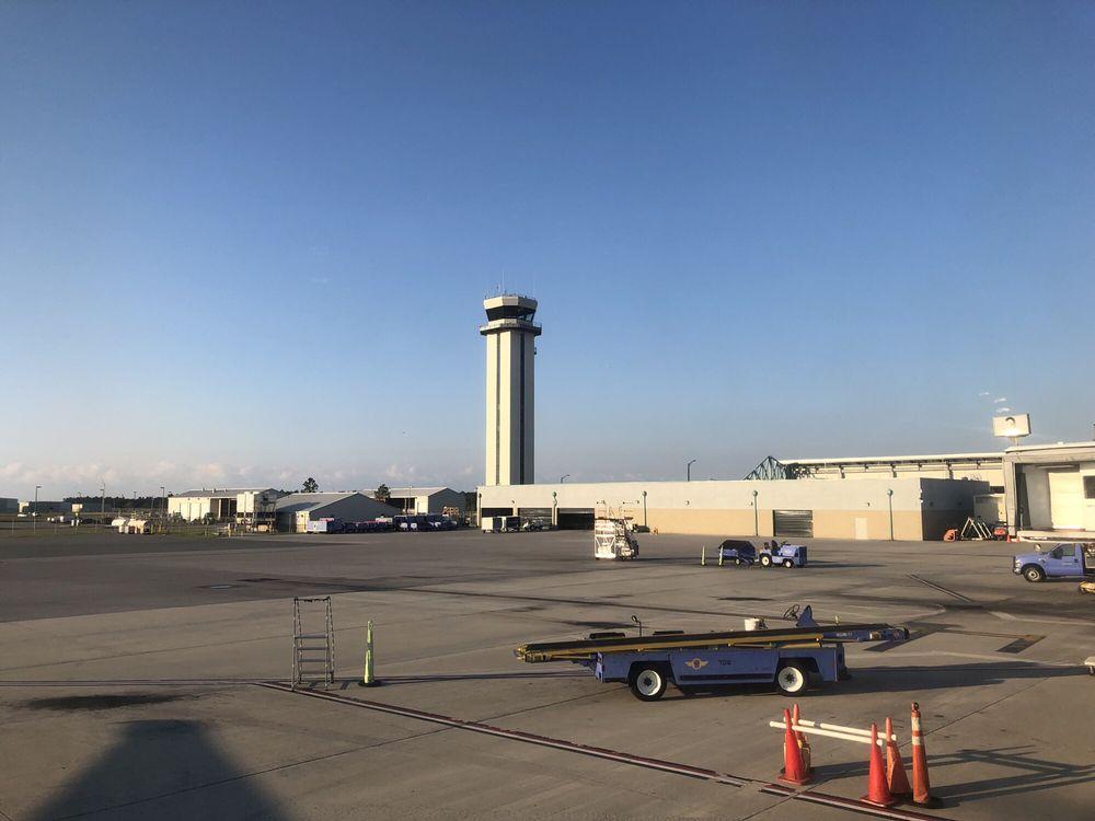 Northwest Florida Beaches International Airport: 6300 W Bay Pkwy, Panama City, FL