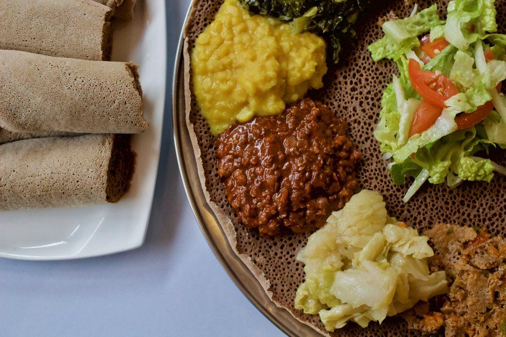 Kategna Ethiopian Restaurant: 1663 W San Carlos St, San Jose, CA
