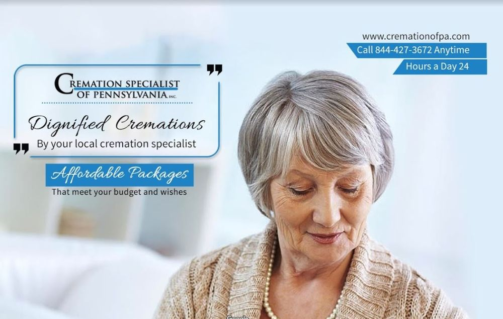Cremation Specialist of Pennsylvania: 728 Main St, Avoca, PA