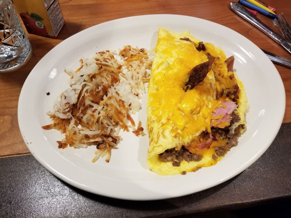 Food from TRUreligion Pancake & Steakhouse