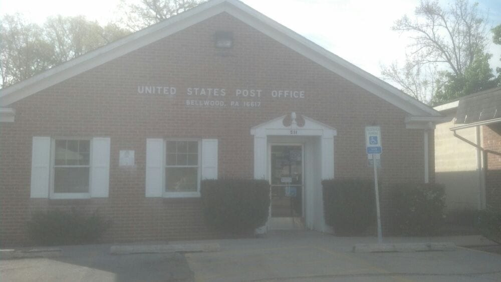 US Post Office: 511 Main St, Bellwood, PA