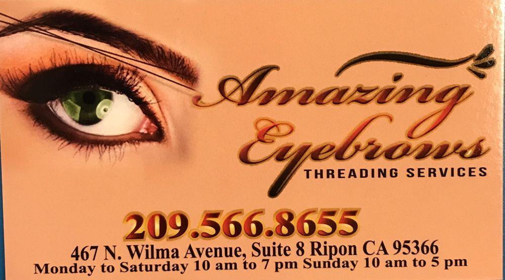 Amazing Eyebrows: 13233 Cedarbrook Way, Lathrop, CA
