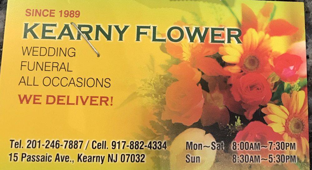 Kearny Flower: 15 Passaic Ave, Kearny, NJ