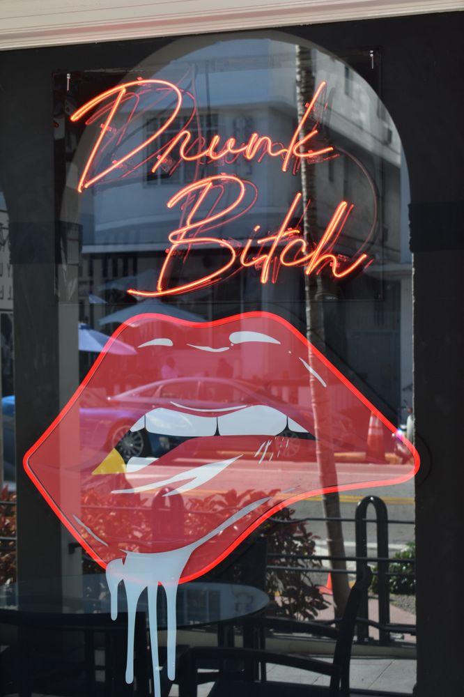 Drunk Bitch: 860 Collins Ave, Miami Beach, FL