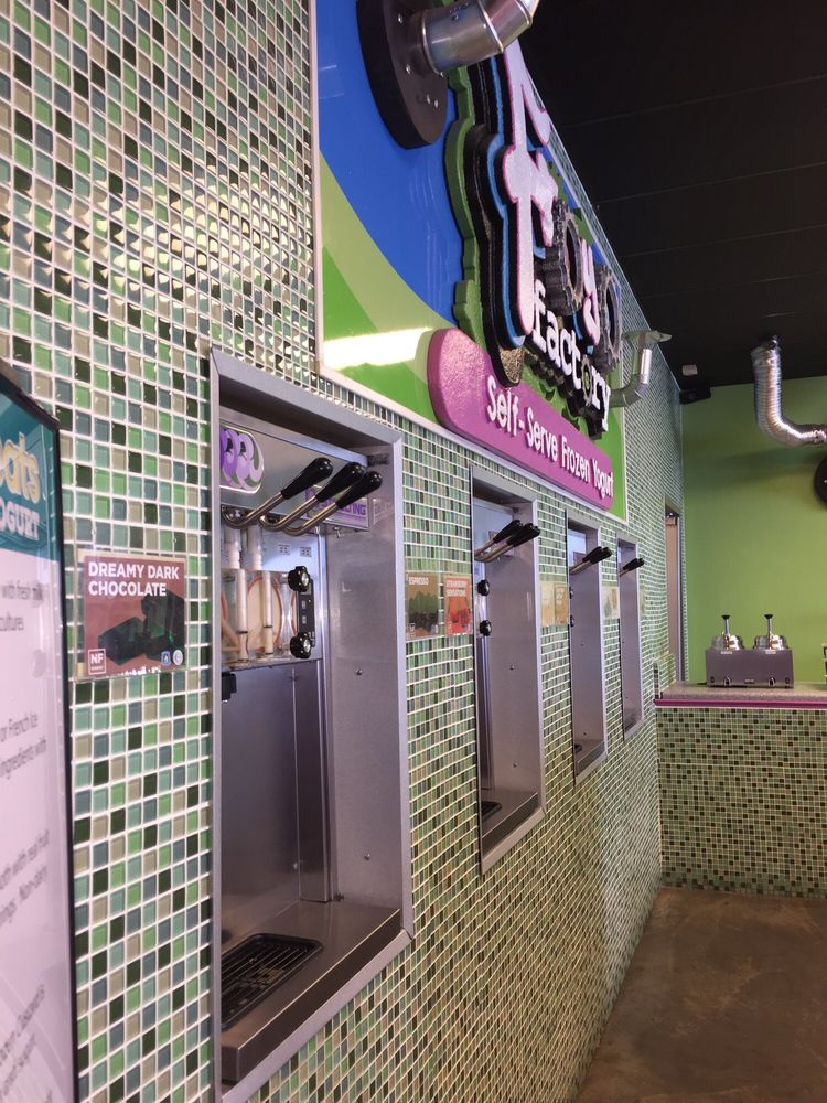 Froyo Factory: 3530 E Race Ave, Searcy, AR