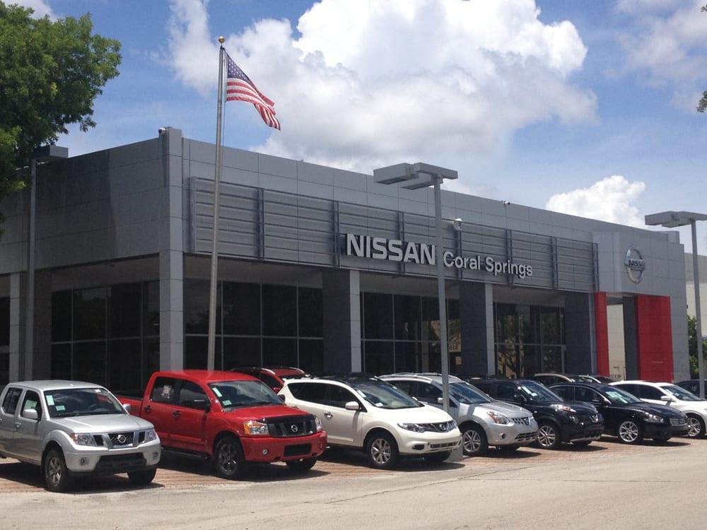 Nissan Coral Springs >> Coral Springs Nissan Yelp