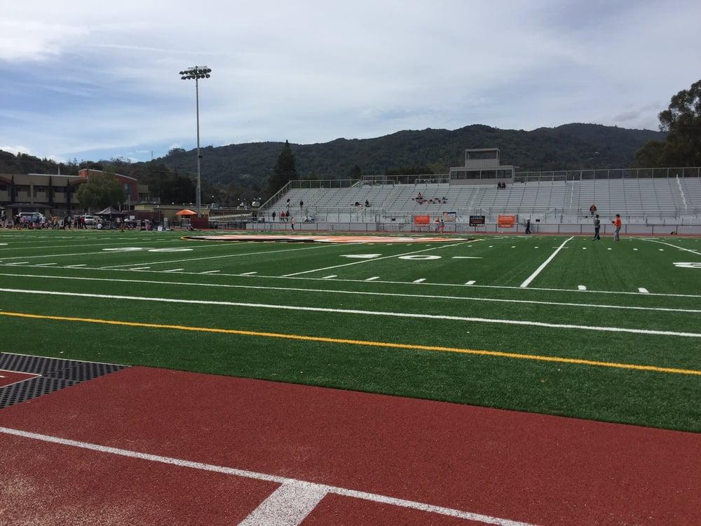 Beautiful Football Field Track Yelp