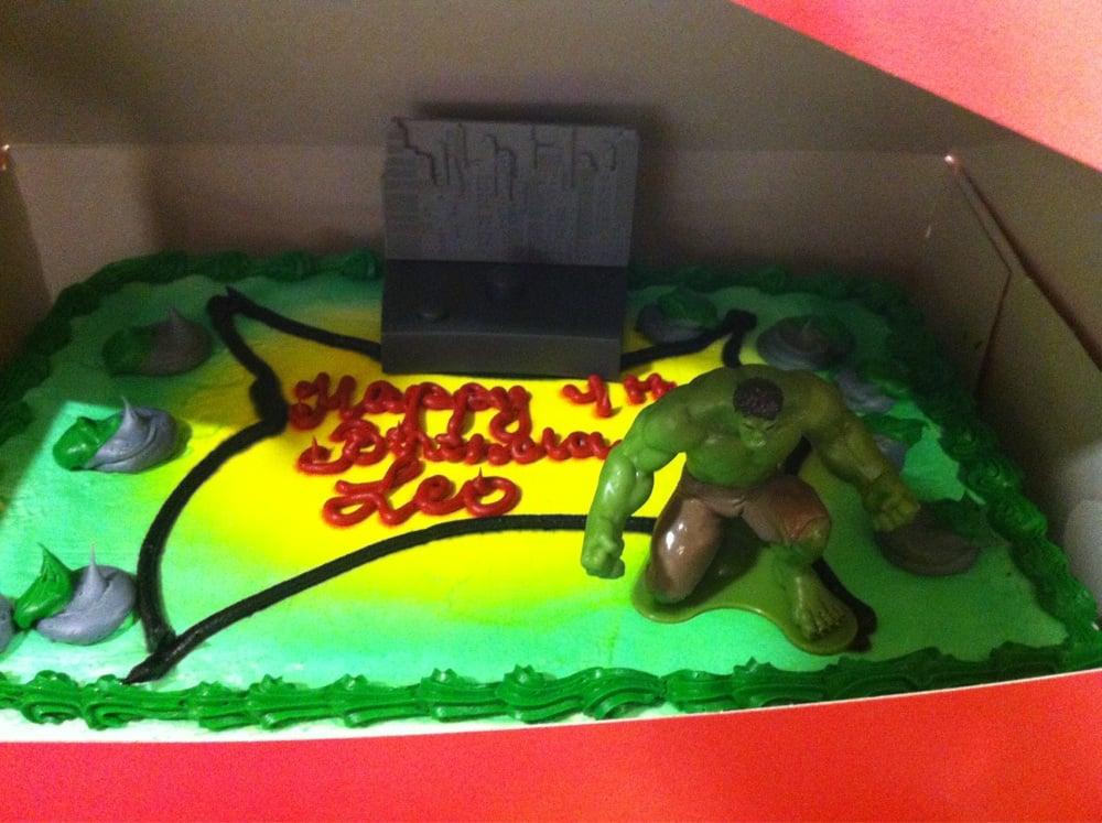 4th Birthday Hulk Cake Yelp