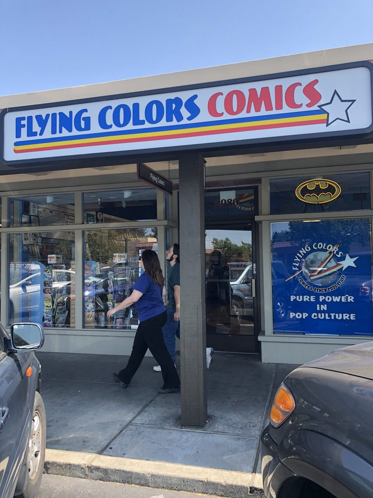 Flying Colors Comics & Other Cool Stuff: 2980 Treat Blvd, Concord, CA
