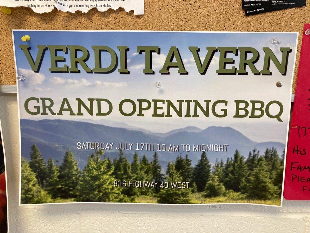 Verdi Tavern: 816 US40, Verdi, NV