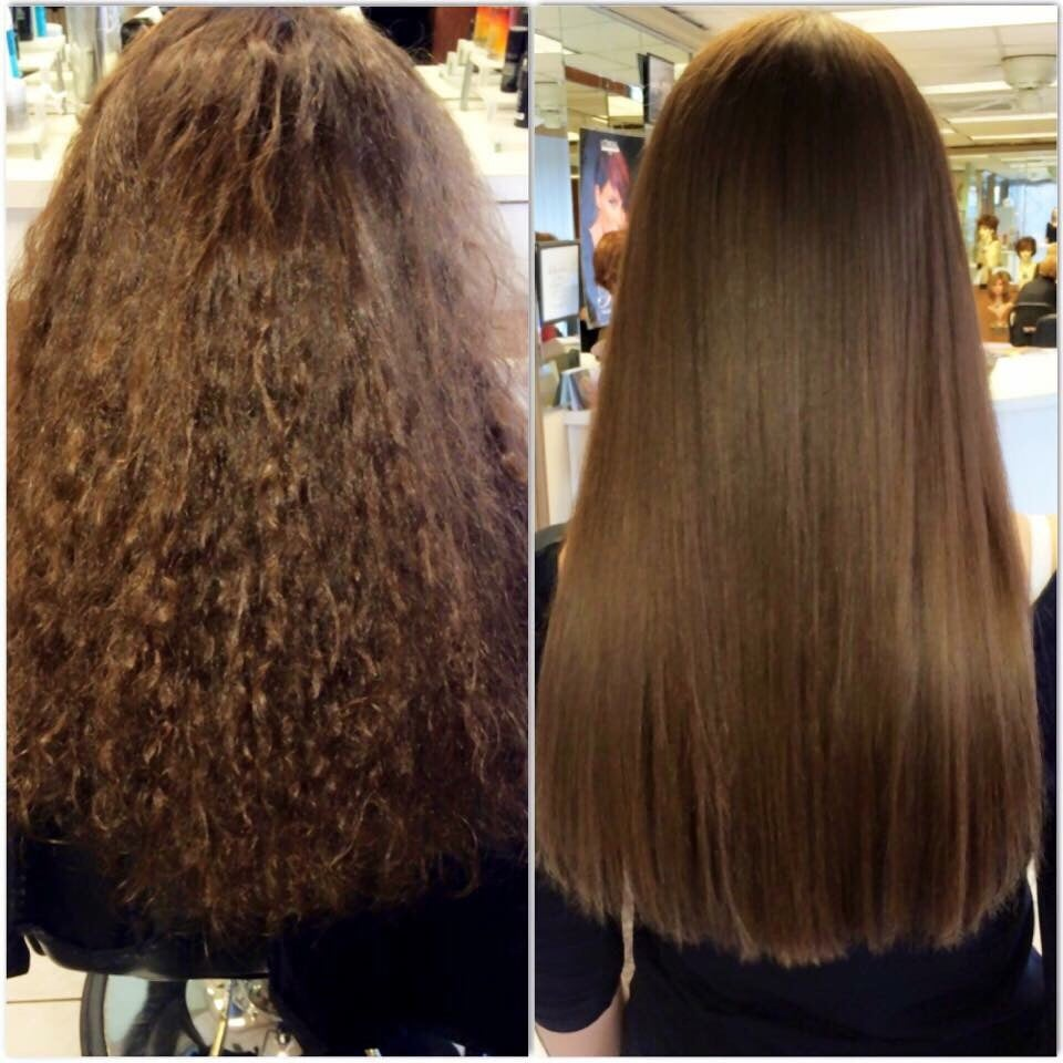 Before After Keratin Treatment Hair By Danielle Yelp