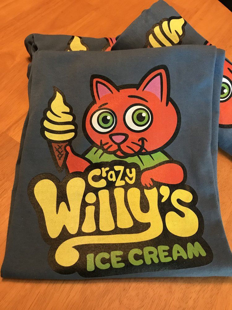 Crazy Willy's Ice Cream: Tanyard Creek Waterfall Trl, Bella Vista, AR