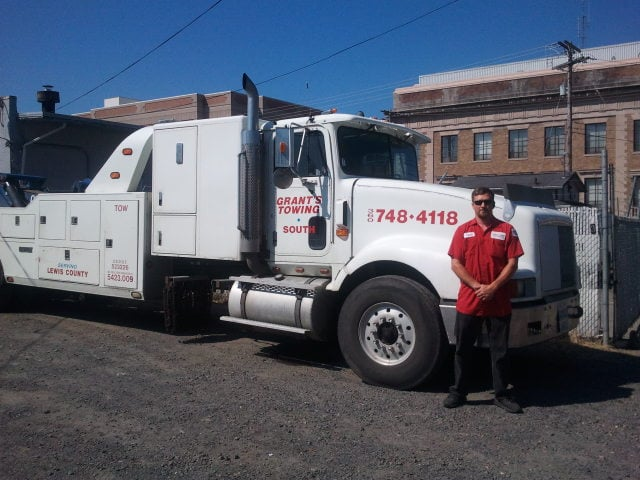 Towing business in Centralia, WA