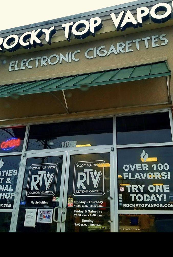 Rocky Top Vapor: 1026 Over Mountain Dr, Elizabethton, TN