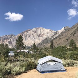 Photo of Convict Lake Campground - Mammoth Lakes, CA, United States.  Campsite 67