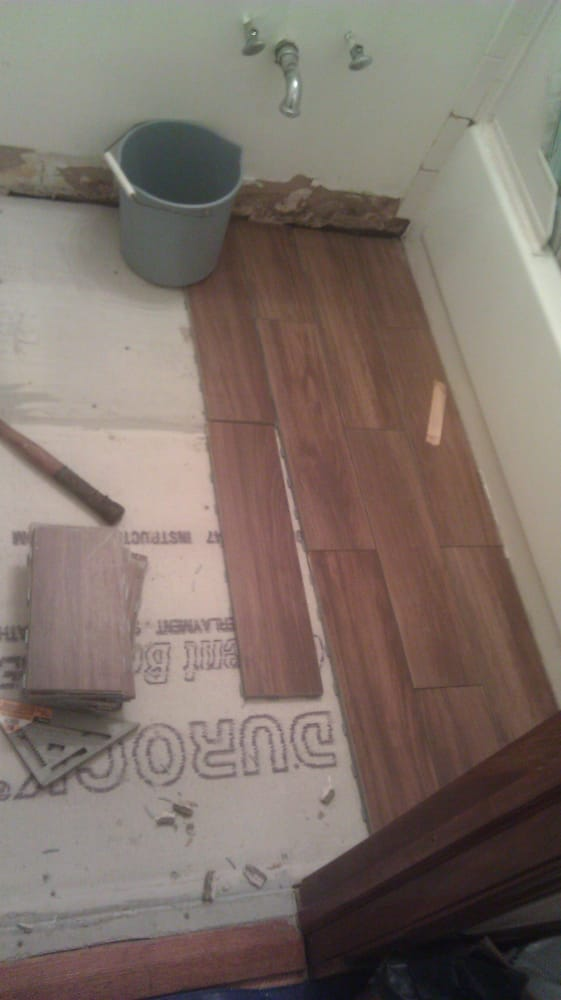 Photo Of Serrano Construction Chicago Il United States Snap On Tile Floor