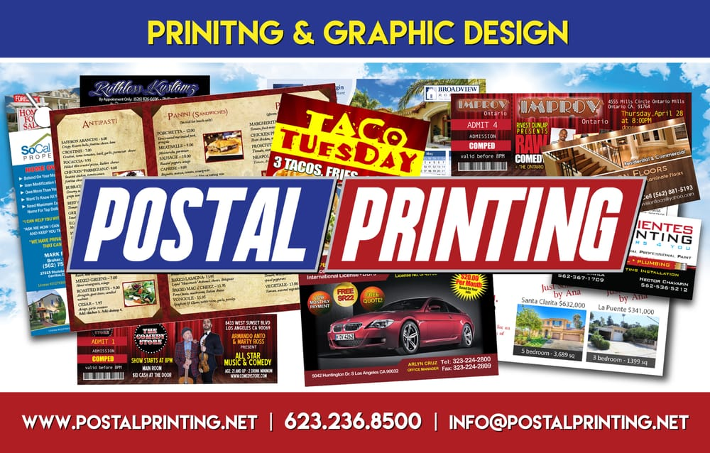 Postal Printing