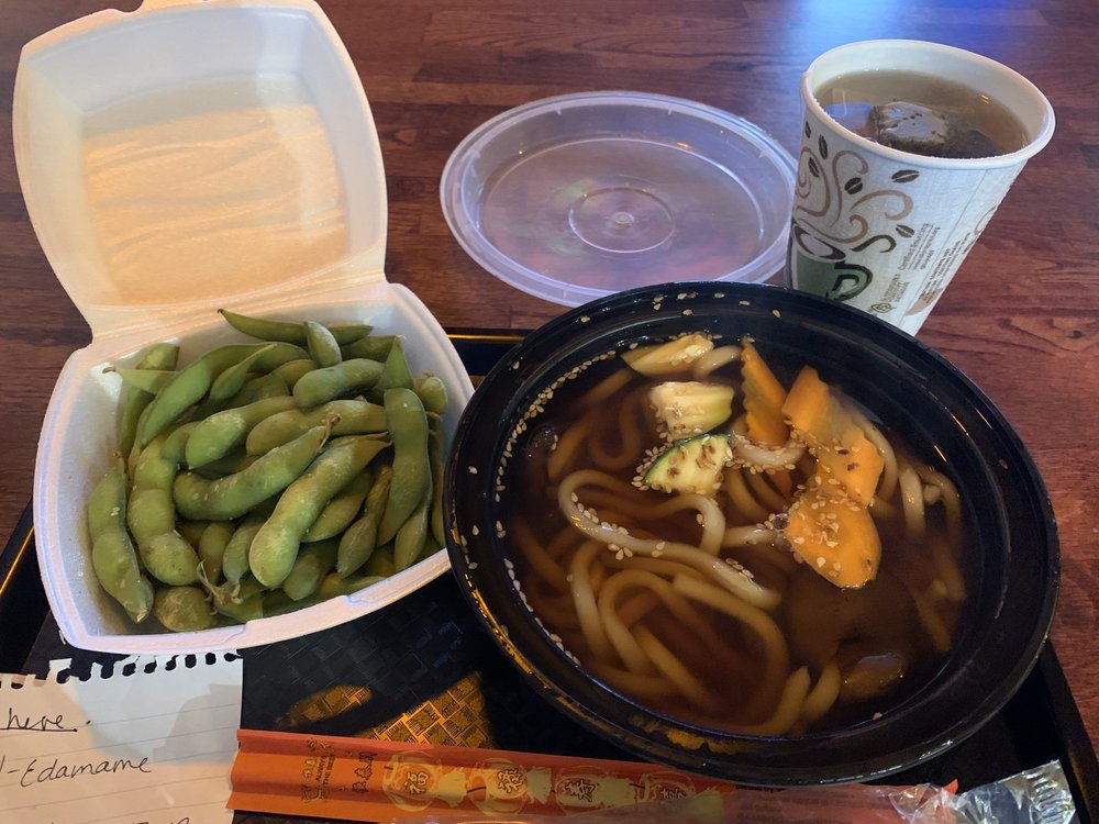 Food from Dora Express Japanese Food
