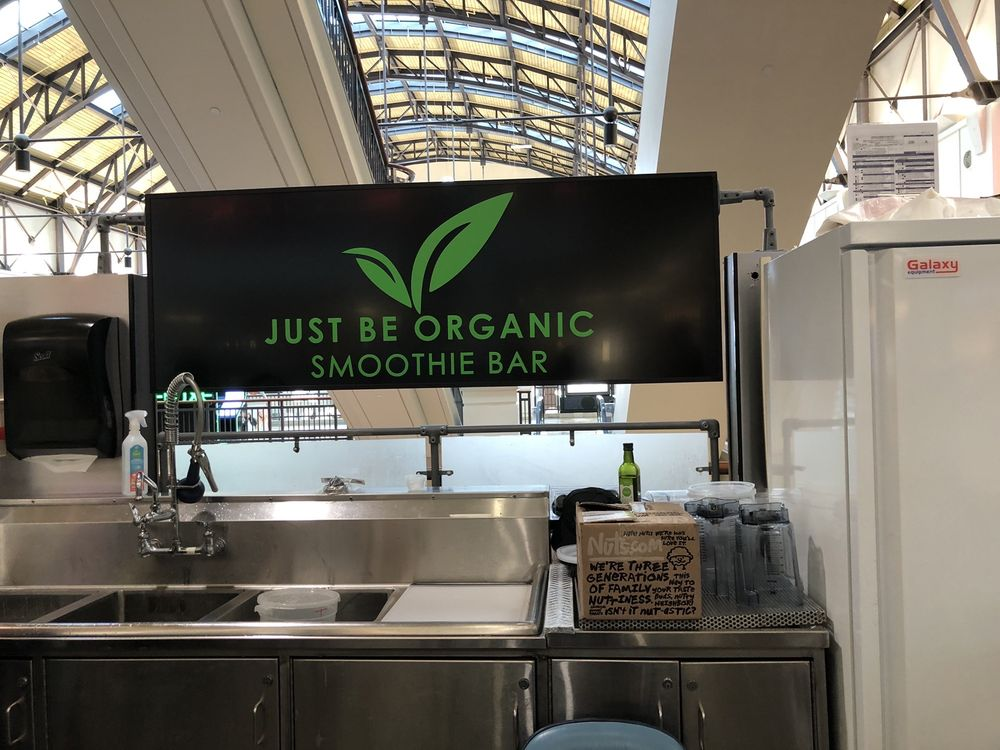 Just Be Organic Smoothie Bar: 3333 Buford Dr, Buford, GA
