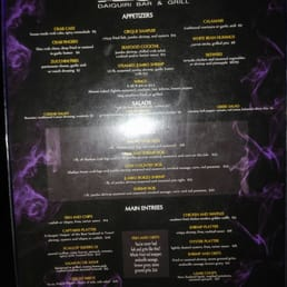 Photos for Cirque Daiquiri Bar and Grill | Menu - Yelp