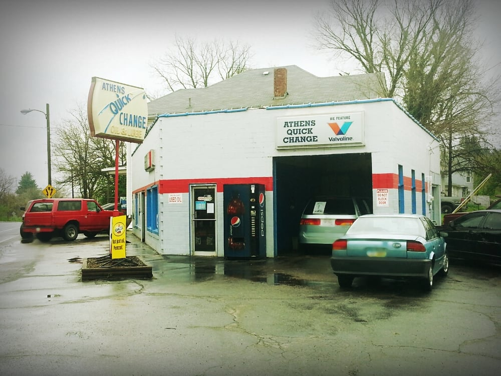 Athens Quick Change Oil & Lubricating: 161 N Lancaster St, Athens, OH
