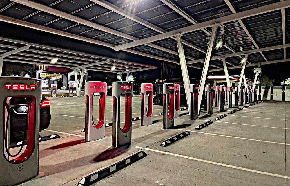 Tesla Supercharger: 46272 W Panoche Rd, Firebaugh, CA