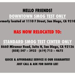 smog test 56 avis contr le technique 1619 g st east. Black Bedroom Furniture Sets. Home Design Ideas
