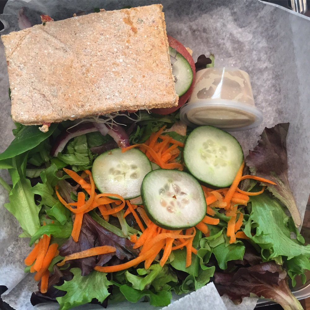 Kitchen Garden Jupiters: Raw Sandwich, Comes With Cup Of Soup Too