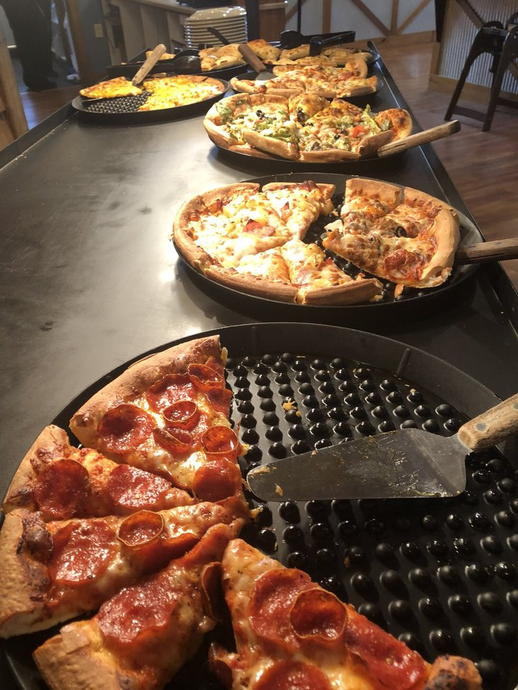 Food from Pizza Ranch