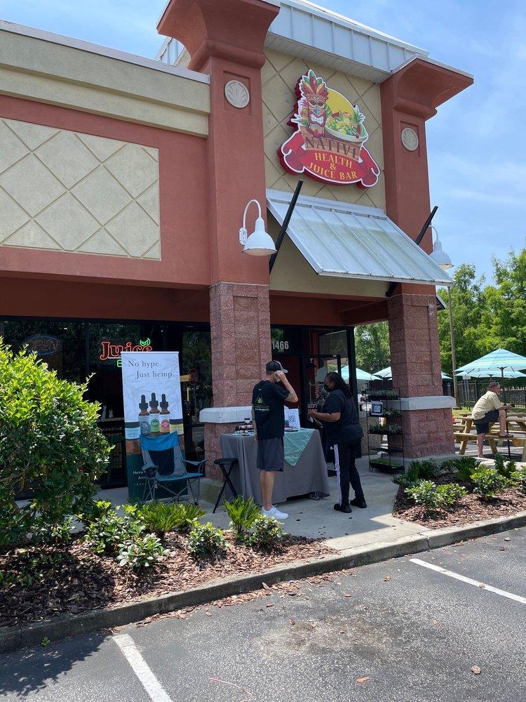Native Health and Juice bar: 1466 Rock Springs Rd, Apopka, FL