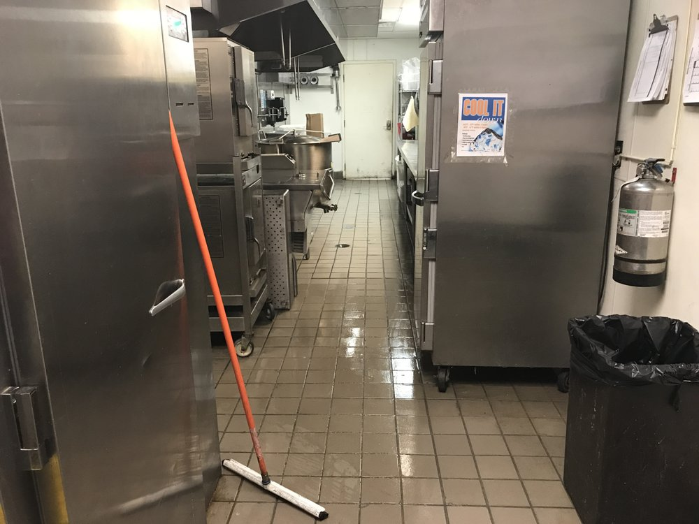 Restaurant commercial cleaning: polish all kitchen areas ...