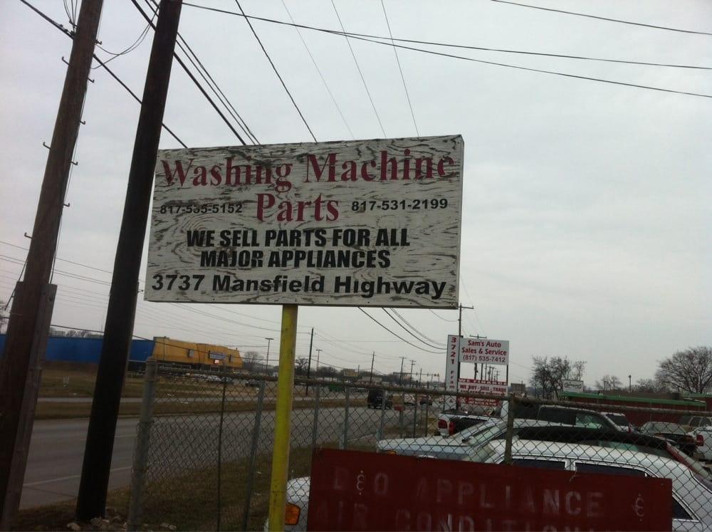 Washing Machine Parts: 3737 Mansfield Hwy, Fort Worth, TX