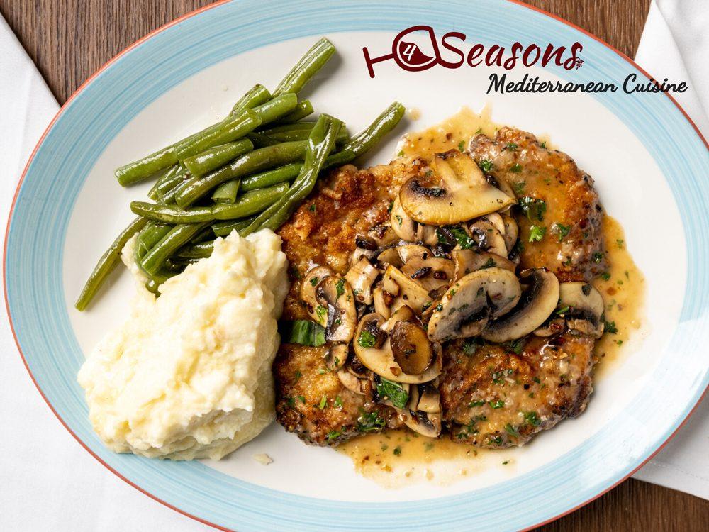 4 Seasons Mediterranean Cuisine: 54 Pembroke Rd, Danbury, CT