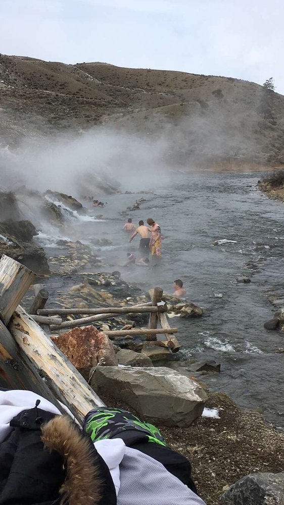 The Boiling River: Hwy 89, Gardiner, MT