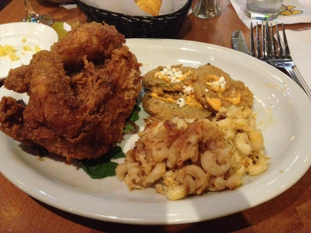 juke joint fried chicken with mac and cheese and fried. Black Bedroom Furniture Sets. Home Design Ideas