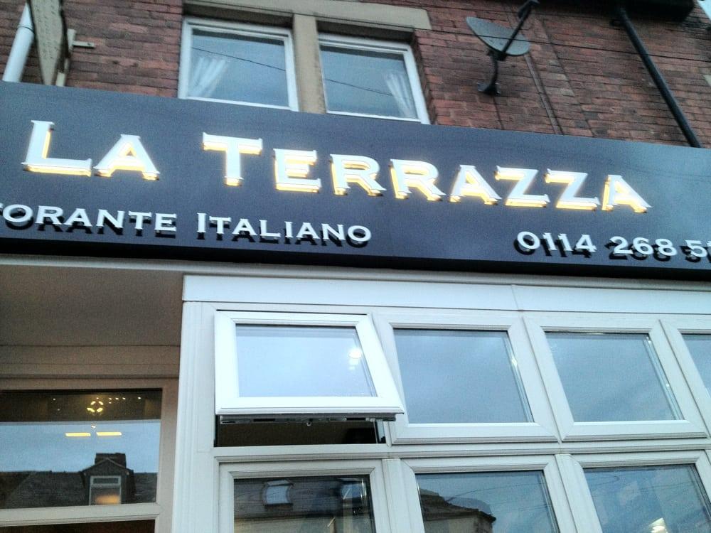 La Terrazza Italian 352 Sharrow Vale Road Sheffield