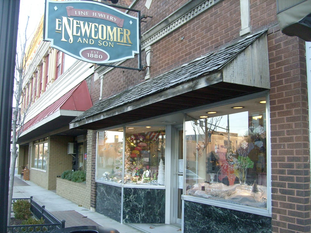 E Newcomer  & Son Jewelers: 107 S Main St, Nappanee, IN