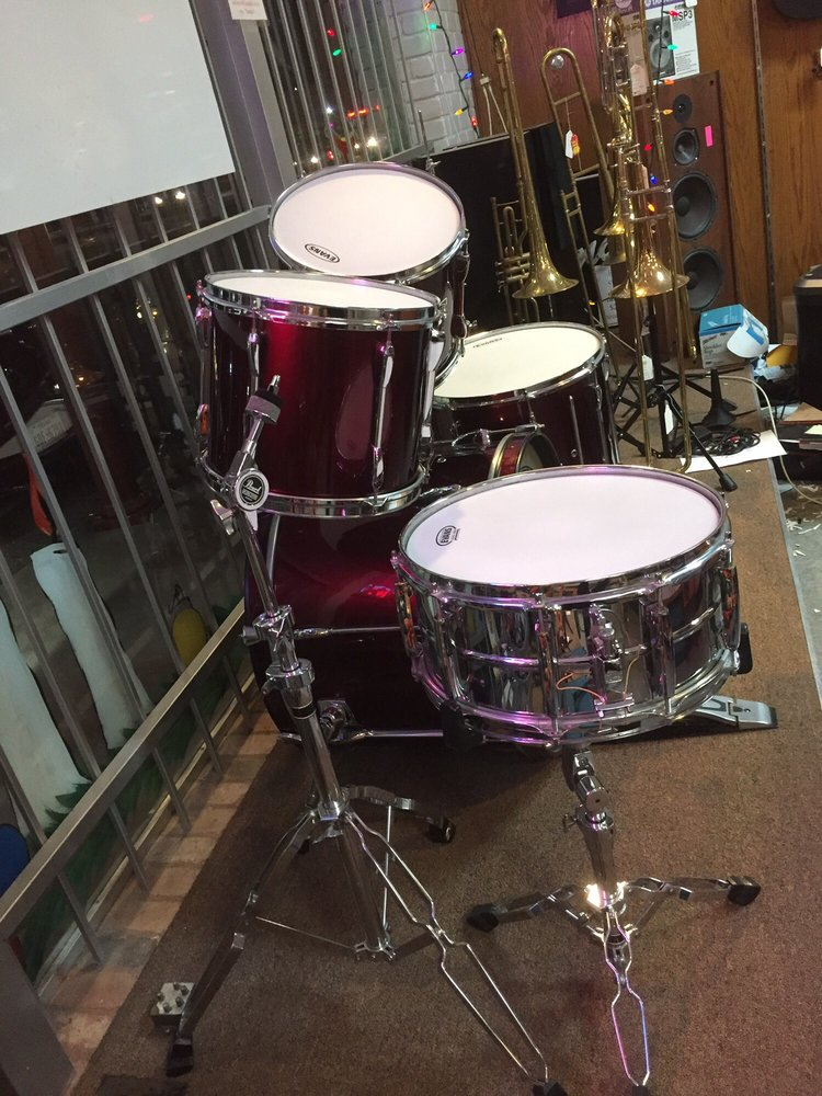 Large assortment of Percussion, full kits and individual